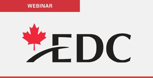 EDC Webinar - COVID19 United States exports forecast