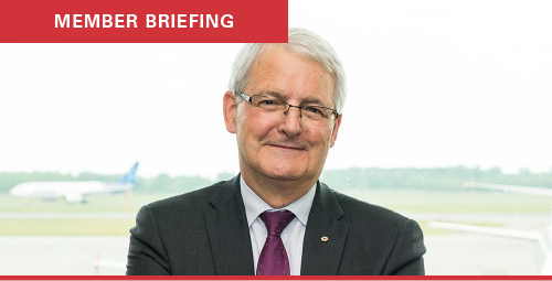 AIAC member briefing with Minister Garneau